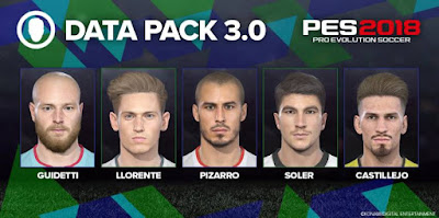 PES 2018 Official Update Datapack 3.0