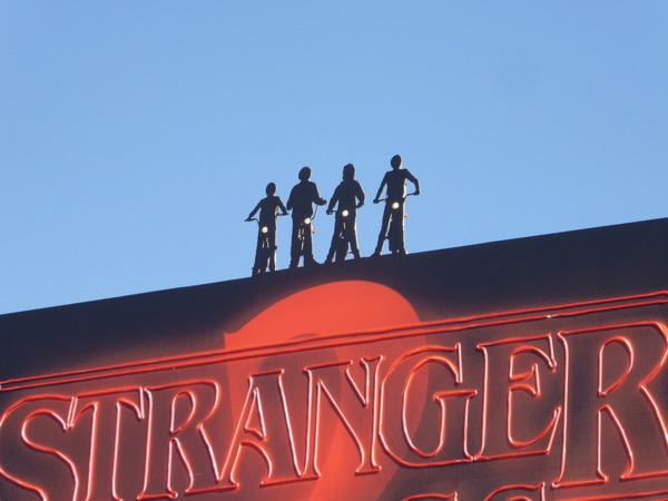 Stranger Things 2 billboard cut-outs