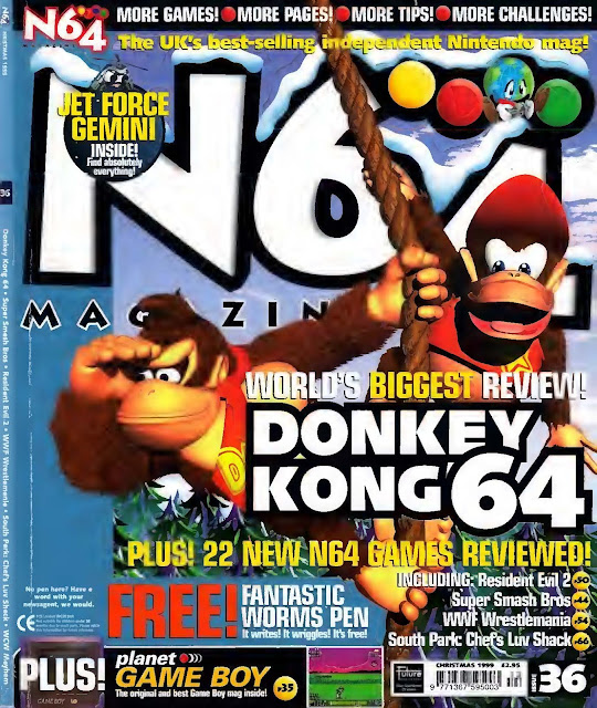 N64 Magazine Issue Nº036 - (1998)