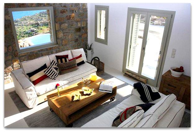 Stone holiday retreat villa in Mykonos, Greece   03artsymphony Stone holiday villa mykonos