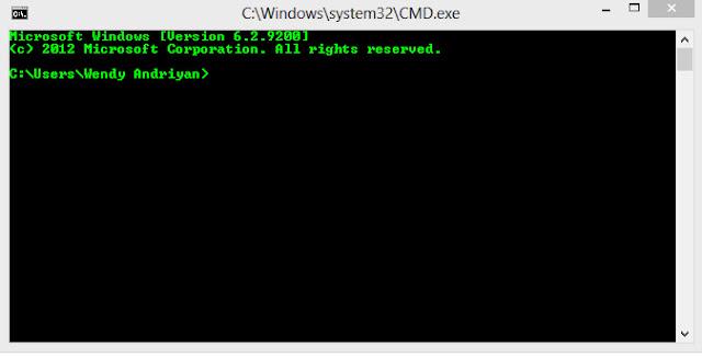 Cara Merubah Warna Teks Pada Command Prompt Windows [Full Tutorial]