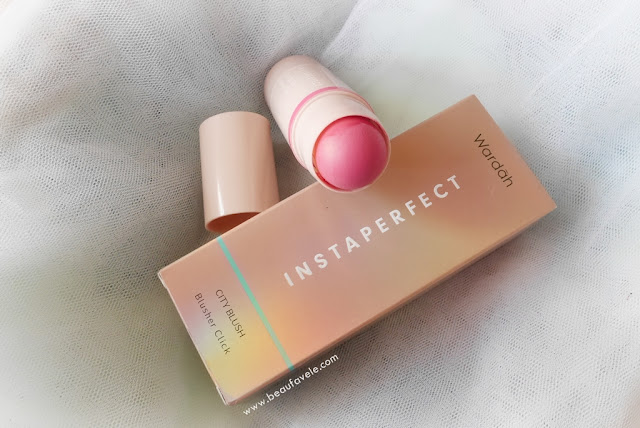 Wardah Instaperfect City Blush Blusher Click packaging