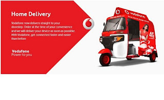 Vodafone launches free home delivery 4G Prepaid SIM for new customers