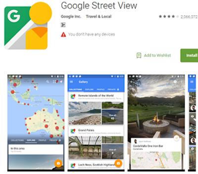 Google Street View VR App