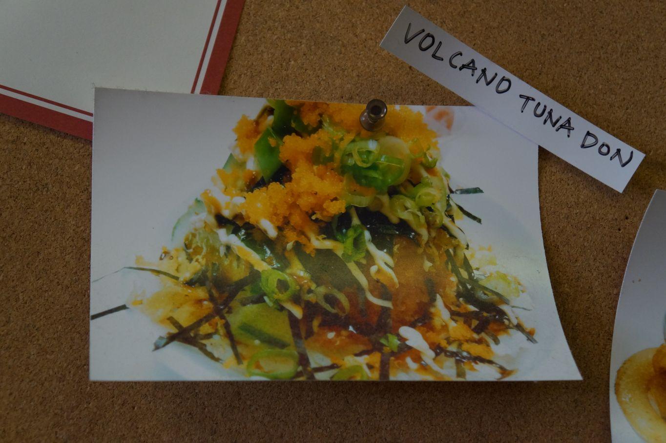 The tucson homeskillet volcano tuna don at samurai sushi for Sushi grade fish near me