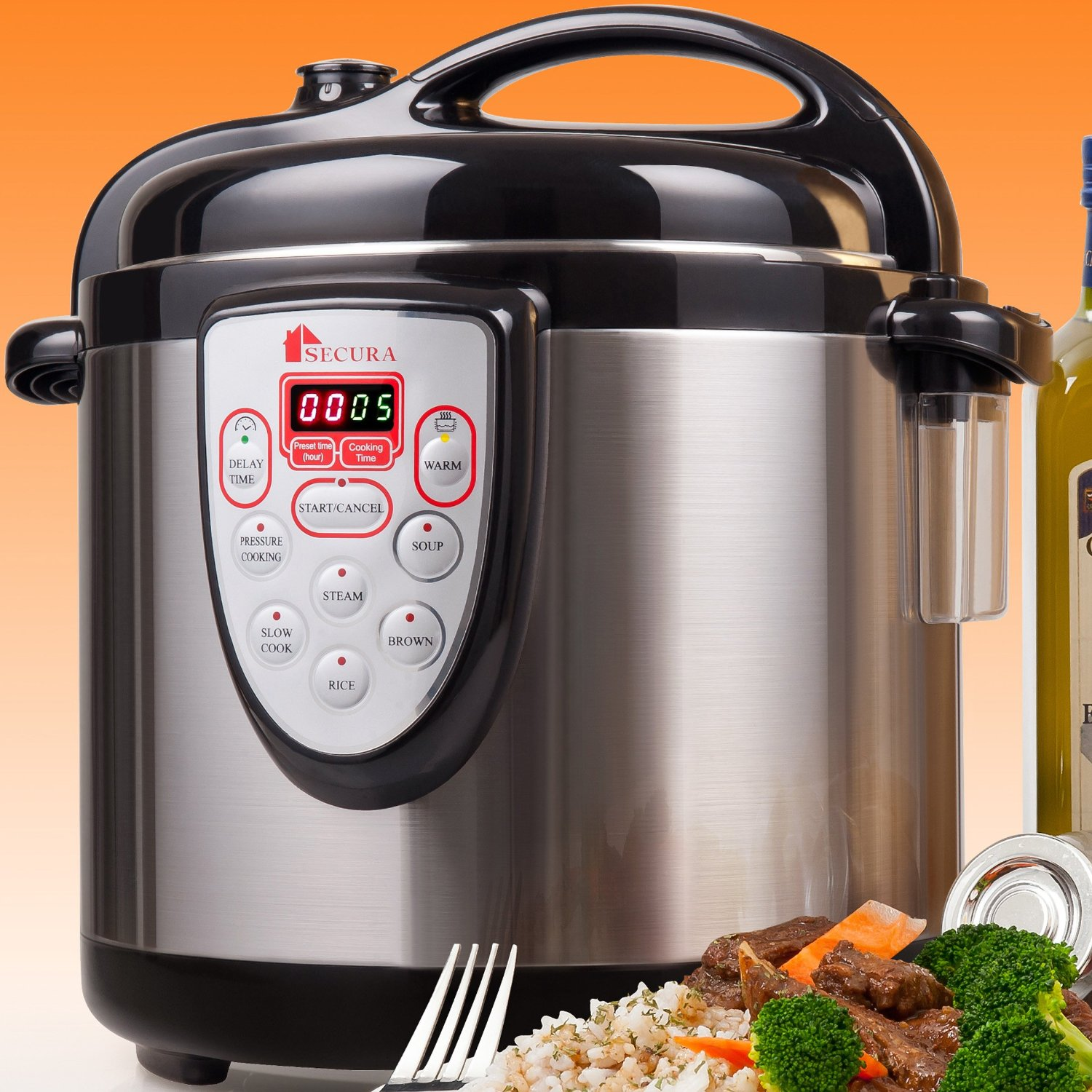 Pressure Cooker Cooking: Kitchen & Dining: Reviews Of Secura 6-in-1 Electric