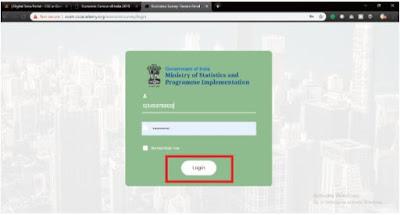 Enumerator & Supervisor online exam process