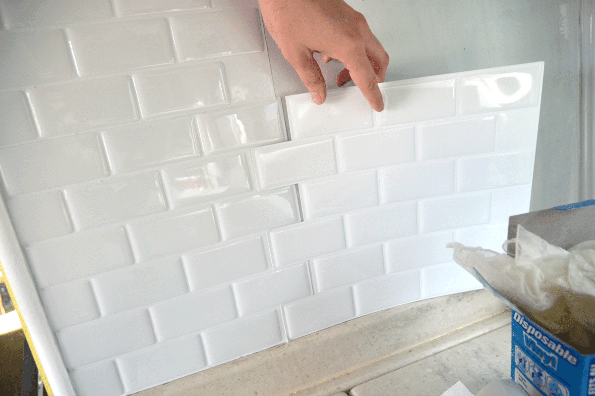 peel and stick tiles for bathroom paint by the light installing peel and stick tile 25666