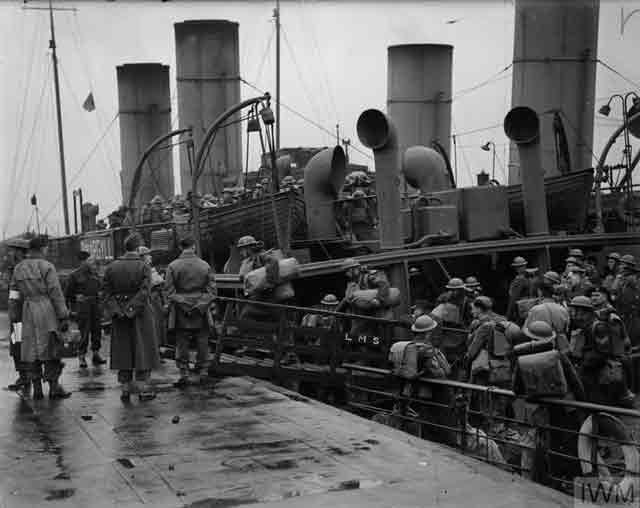 Canadian troops arriving at Gourock, 13 November 1941 worldwartwo.filminspector.com