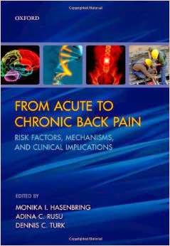 From Acute To Chronic Back Pain Risk Factors, Mechanisms And Clinical Implications Pdf Book By Monika I. Hasenbring, Adina C. Rusu and Dennis C. Turk