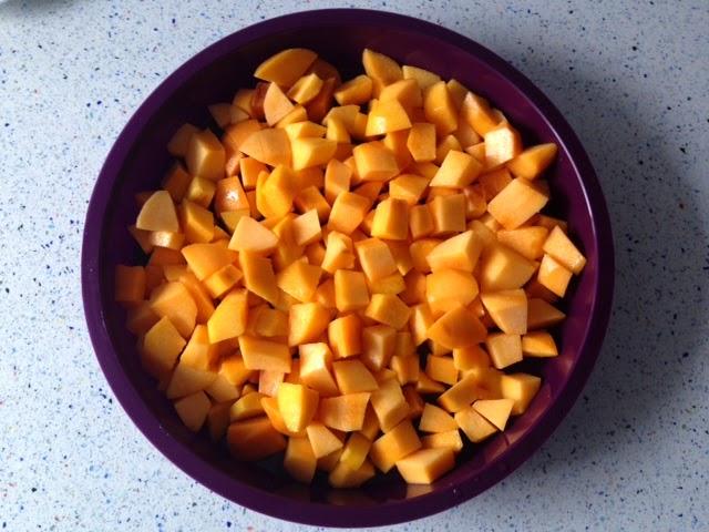 Cortar la fruta