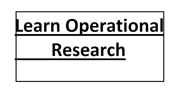 Learn Operational research picture