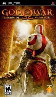 Capa God of War PSP