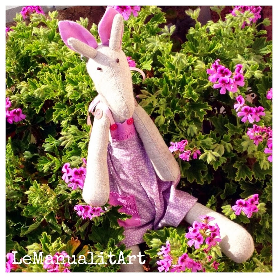 LeManualitArt Costura creativa: Jirafa para niños