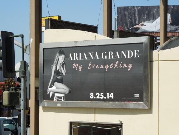 Ariana Grande My Everything billboard