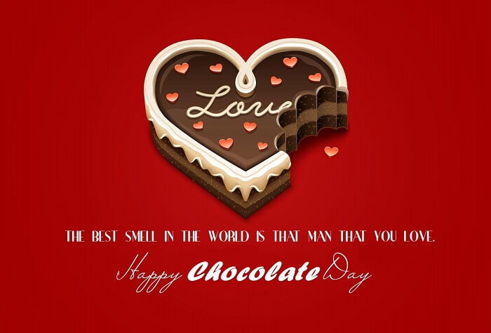 Happy Chocolate Day SMS for Girlfriend & Boyfriend