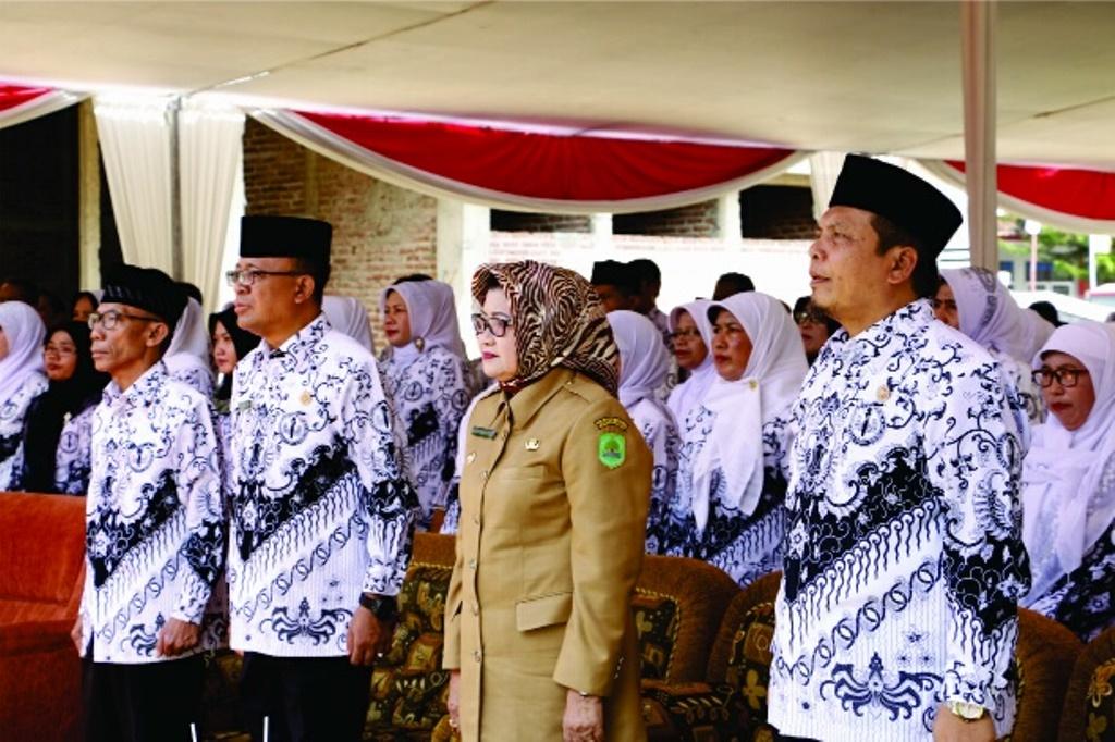 Keluarga Besar PGRI Subang Gelar Acara Halal Bihalal