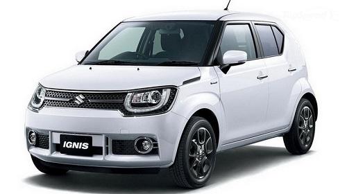 Exterior Suzuki Ignis 2017