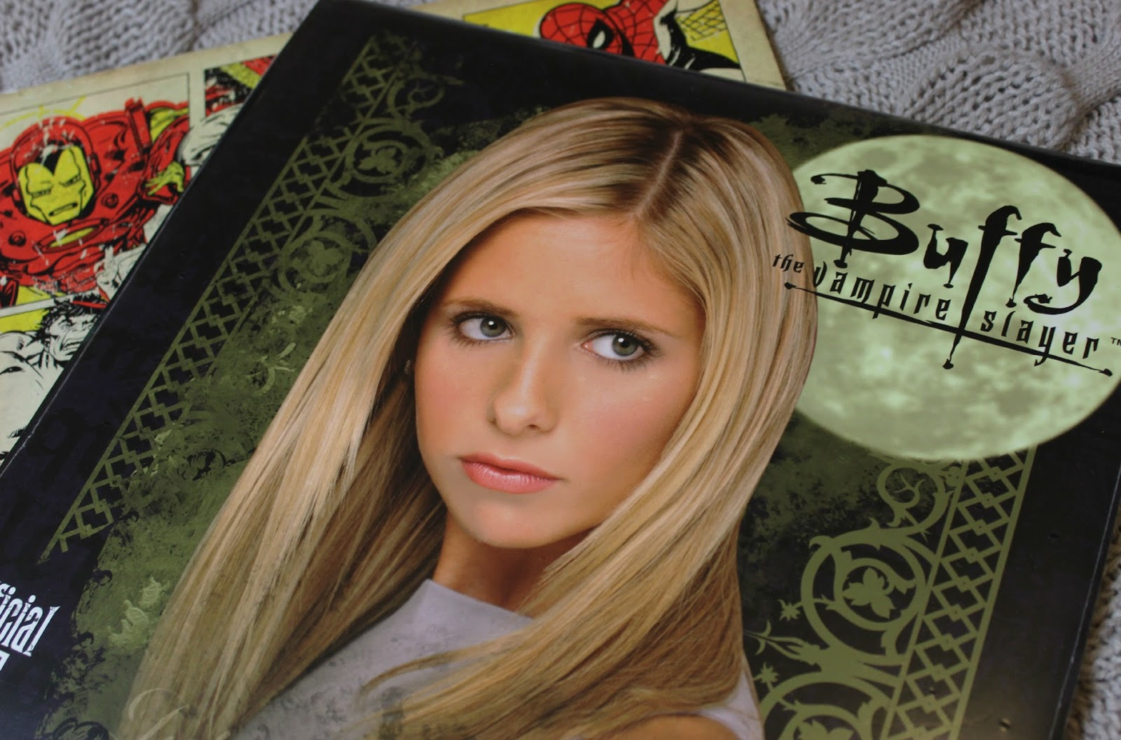A picture of the Official 2015 Buffy the Vampire Slayer Calendar