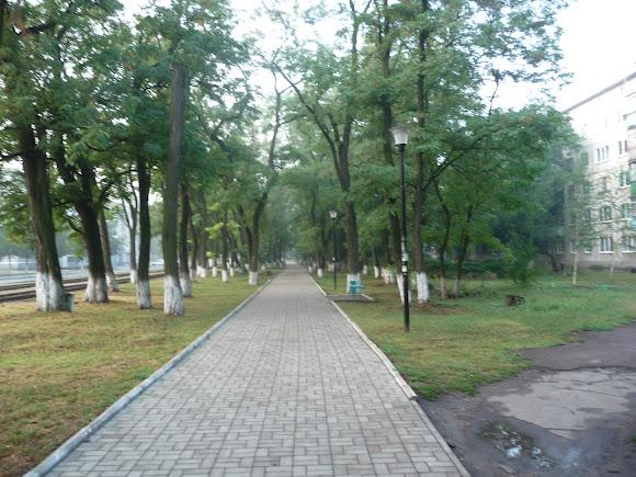 Авдеевка. Центральный проспект