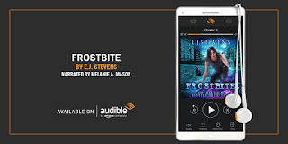 free on Audible Frostbite Ivy Granger Psychic Detective Award Winning Urban Fantasy Audiobook by E.J. Stevens