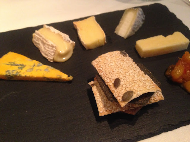 Cheeseboard at Van Zeller