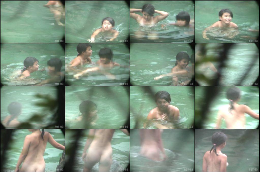 Aqua な露天風呂 Vol.730