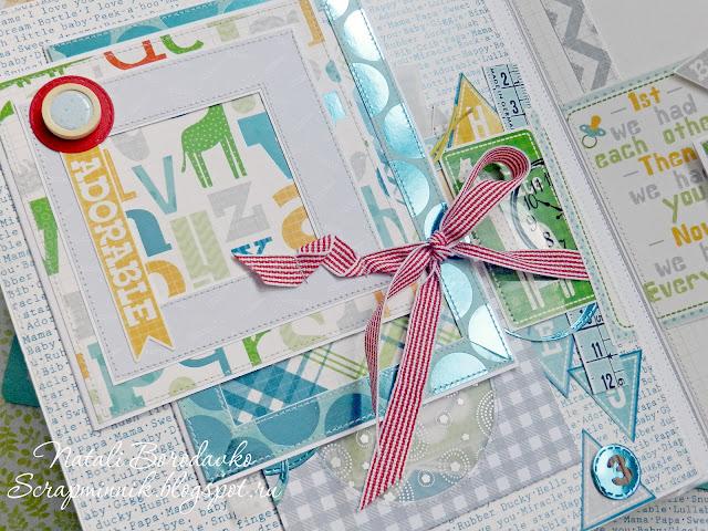 scrap album, handmade, fotoalbum, for newborn, scrap foto,handmadescrapalbums, dcwv