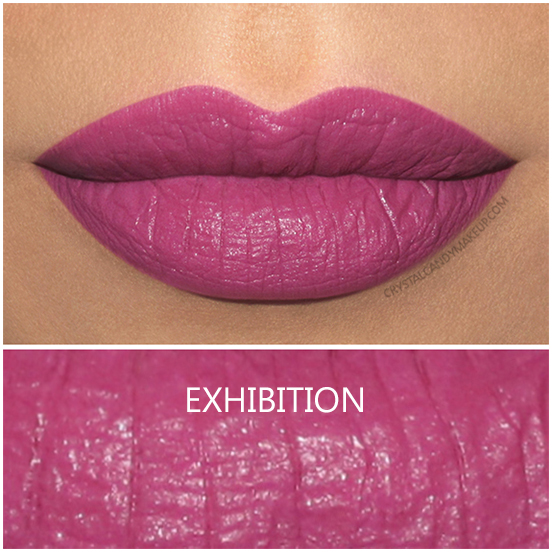 Urban Decay Basquiat Lipstick Exhibition Swatch
