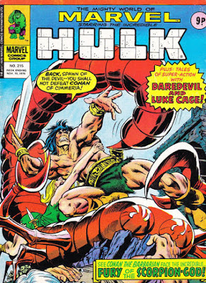 Mighty World of Marvel #215, Conan the Barbarian