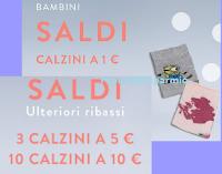 Logo Calzedonia: calzini bimbi a soli 1€ e stock 10 calzini donna a soli 10€ (1€ ciascuno)