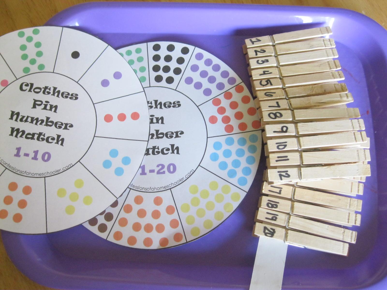 The Preschool Experiment Tot Trays Laundry Theme