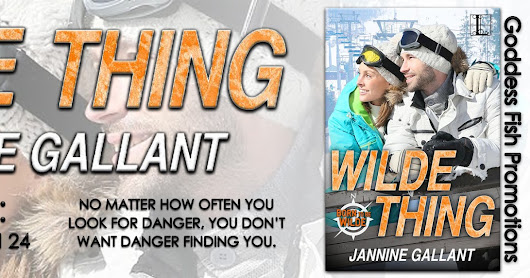 Wilde Thing by Jannine Gallant ❤️ Book Tour & Giveaway ❤️ (Contemporary Romance)