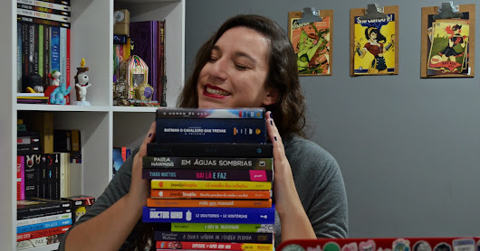 Book, Quadrinhos e DVDs Haul: Abril e Maio (2017)