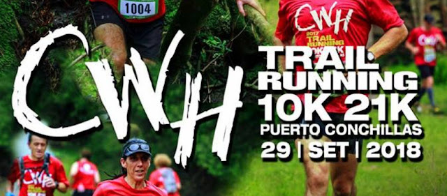 21k y 10k CWH trail running en Puerto Conchillas (Colonia, 29/sep/2018)