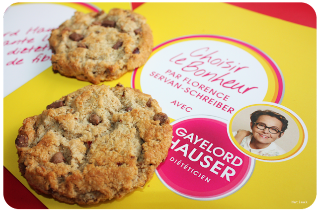 maxi cookies choloat et cranberry Gayelord Hauser