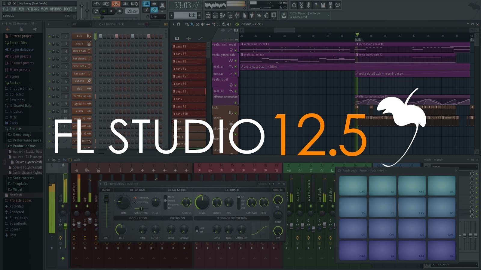 fl studio 12.5 1.5 crack free download