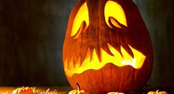 Weird Pumpkin Carving Design