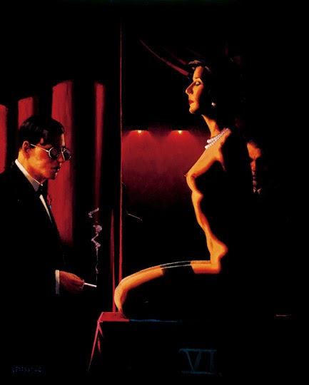 Os Assessores - Jack Vettriano e suas pinturas cheias de encontros íntimos