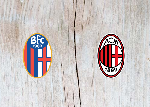 Bologna vs AC Milan Full Match & Highlights 18 December 2018
