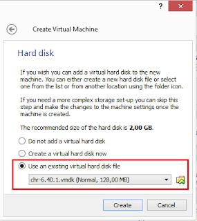 Cara Menginstal CHR di Virtualbox