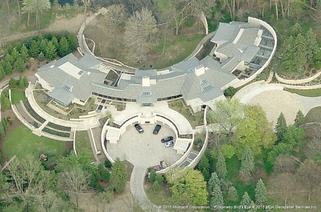 Mansion of the late billionaire William Davidson.