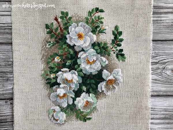риолис 1351 белый шиповник