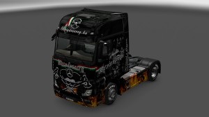 Betyarsereg Skin for Mercedes MP4