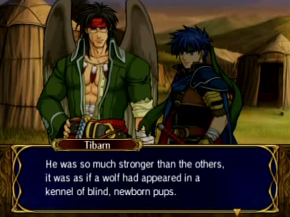 Fire Emblem Path of Radiance Chapter 27 A Moment of Fate Tibarn Ike Black Knight