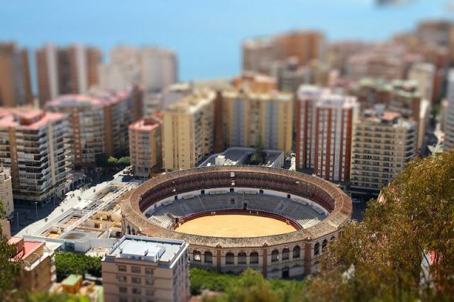 Sân vận động tại thành phố bóng đá Malaga, Tây Ban Nha