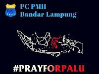 PC PMII Ajak Masyarakat Bandar Lampung Membantu Korban Bencana Alam Di Sulawesi Tengah