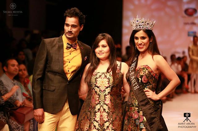 Mrs Earth Priyanka Khurana Goyal Adds To The Glamour At India Runway Week Pocket News Alert