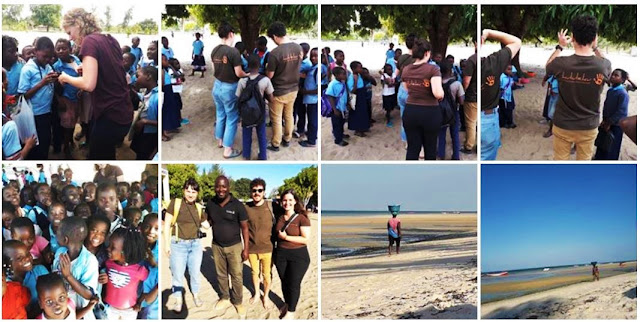 volunteering in Mozambique