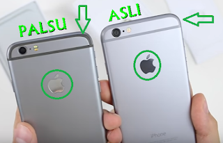 cara membedakan fisik iPhone asli dan palsu